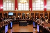 Un mmomento de la reunión celebrada en la Universidad de Zaragoza