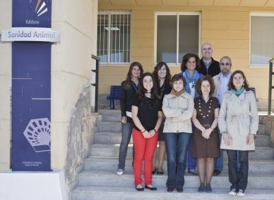 Grupo de investigadores de la UCO que trabajan en el proyecto