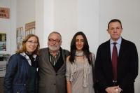 De izda. a dcha., Carmen Blanco, Fernando Savater, Mª del Mar Palenzuela y Eulalio Fernández
