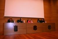 De izq. a dcha., Aurora Campillo González, María Martínez-Atienza de Dios, Rosario Mérida Serrano y Manuela Álvarez Jurado