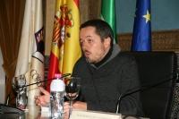Jorge Yeregui, en una imagen de archivo de la presentación del libro en Córdoba el pasado mes de febrero.