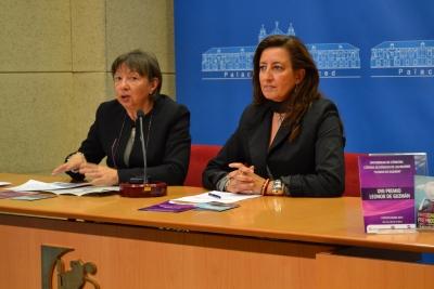 Mercedes Osuna (izq) y Trinidad Moreno