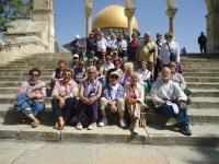 Los alumnos durante una de las visitas