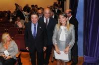 Luis Planas, Rosa Gallardo y Antonio Ruiz