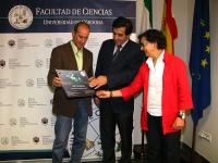 De izqda. a dcha, Alberto Redondo,Manuel Blázquez y María Teresa Roldán