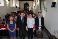 De izquierda a derecha, Magdalena Reifs, Luis Planas, Nuria Magaldi y Javier Pagador