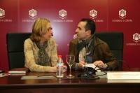 Carmen Blanco y Octavio Salazar
