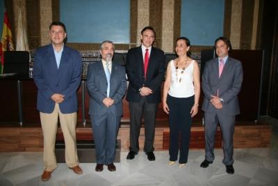Un momento de la inauguración de la Universidad de Verano Corduba