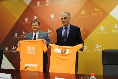 Rafael Moreno (dcha) y Manuel Castillo