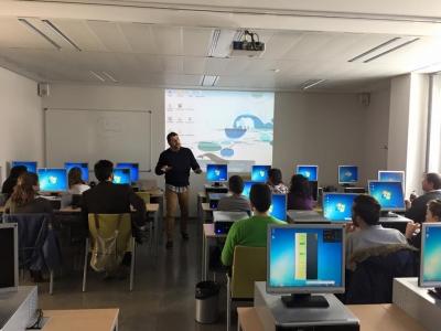 Un momento del taller para alumnos de doctorado de la Universidad de Córdoba