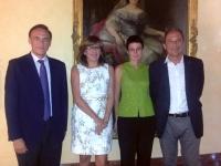 De izquierda a derecha, José Carlos Gómez, Julieta Mérida, Nuria Magaldi y Francisco Correa.