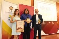 Ana Ruiz Osuna, Carmen Balbuena y Desiderio Vaquerizo, durante la presentación de ArqueoCórdoba