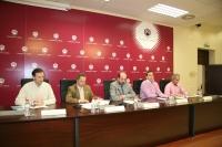 De izq a dcha Rafael Pinilla, Francisco Villamandos, Manuel Torres, Francisco Foche y Rafael Blázquez