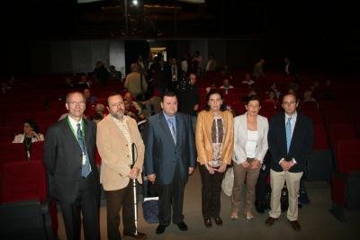 Autoridades presentes en la inauguración