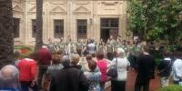 Actuación del Coro de Cámara de la Utah Valley University