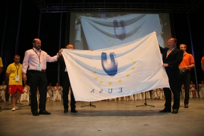 Córdoba traspasa la bandera de los Juegos a Rotterdam