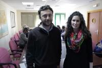 Giacomo Giannocaro y Sara Palomo