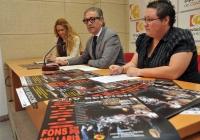 De izq a dcha, Elena Gómez, Antonio Pineda y Joaquina Alonso