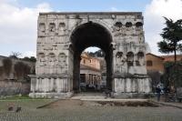 Imagen del Arco de Giano, objeto de la investigación