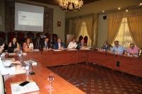Reunión del Pleno del Consejo Social de la UCO en el Salón de Columnas