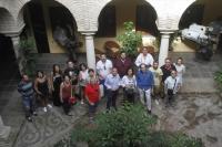 Autoridades asistentes a la inauguración del curso 'Un verano de guión'