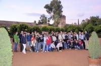 Foto de familia de los niños participantse en el programa Estalmat-Andalucía