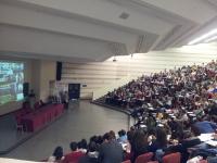 Un aspecto de las sesiones