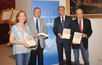 De iozq a dcha. Carmen Blanco, Juan Miguel Moreno, Antonio Pineda y Joaquin Roses