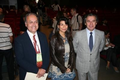 Juan Jose Ruiz, Isabel Pombal y Alfonso Garcia-Ferrer