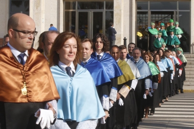Imagen de archivo del acto oficial de apertura de curso del año pasado