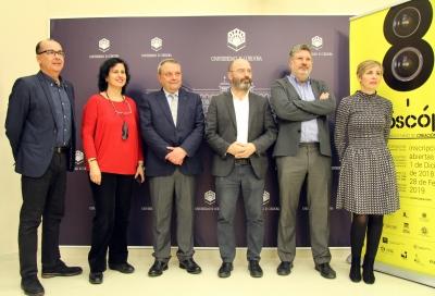 Autoridades asistentes a la presentación de Suroscopia
