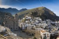 Recreación virtual de la iglesia de Santa María de Cazorla