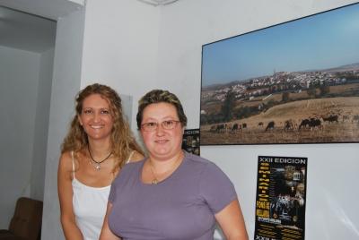 Las dos coordinadoras de Fons Mellaria, Elena Gómez Parra y Joaquina Alonso