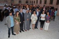 Foto de famlia de autoridades y organizadores del evento.