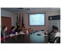 La Comisión de Seguimiento del III Congreso de Economía Social y Solidaria formada por REAS-Andalucía y el Área de Cooperación y Solidaridad de la Universidad de Córdoba.