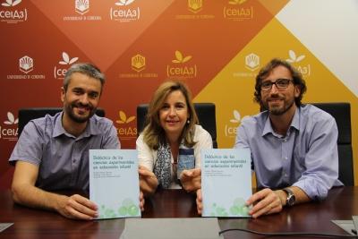 Rosario Mérida Serrano, Jerónimo Torres Porras y Jorge Alcántara