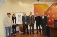Un momento de la presentación del concurso Ecomural.