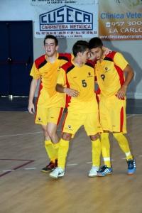 Segunda victoria del equipo de la UCO en fútbol-sala