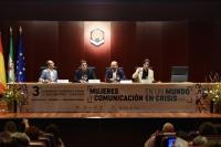 De izquierda a derecha, Octavio Salazar, Luis García Montero, Manuel Torres y Benjamín Prado