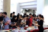 Fiesta Universitaria del Libro celebrada en la Biblioteca de Rabanales