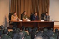 De izquierda a derecha, Enrique Aguilar, Aroldo Lázaro Sáez, Librado Carrasco y Juan Pedro Monferrer