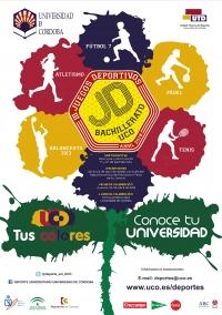 Finaliza el plazo de inscripción para los III Juegos Deportivos Bachillerato-UCO