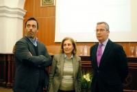 De izq Antonio Monterroso, Maria Dolores Muñoz  y Carlos Márquez