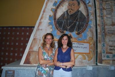 Elena Gómez y Carmen María Mata en Fons Mellaria 2010