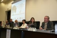 Un momento del acto inaugural del Máster en Olivicultura
