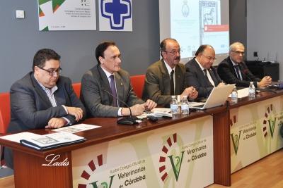 Mesa inaugural del ciclo de conferencias