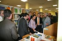 Un momento de la inauguración de la biblioteca