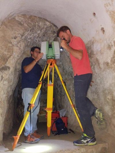 Trabajos en el túnel