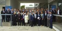 Foto de familia de asistentes al encuentro