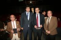 De izq a dcha: Julian Morales, Carlos Jiménez, Manuel Blázquez y Cesar Jiménez